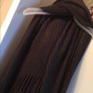 Black knit wrap/shawl